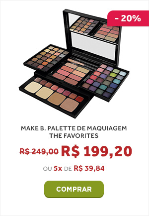 MAKE B. PALETTE DE MAQUIAGEM THE FAVORITES