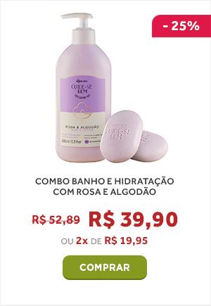 COMBO BANHO E HIDRATAÇÃO COM FLOR DE AMEIXA
