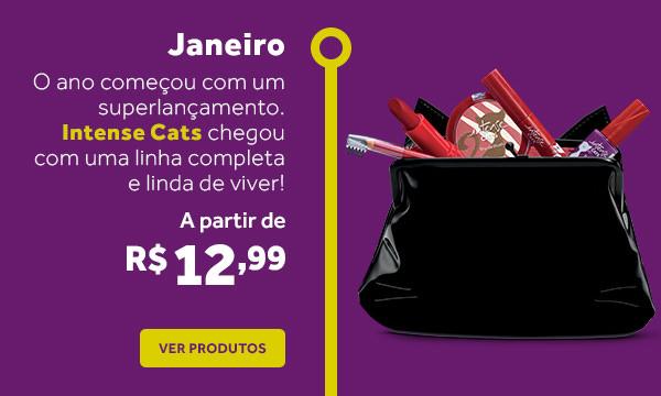 Janeiro: Linha Intense Cats