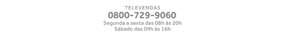 Televendas - 0800-729-9060